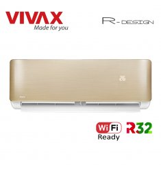 Aer Conditionat VIVAX R-Design ACP-12CH35AERI GOLD Wi-Fi Ready Inverter 12000 BTU