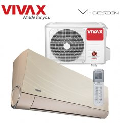 Aer Conditionat VIVAX V-Design ACP-12CH35AEVI GOLD R32 Wi-Fi Ready Inverter 12000 BTU
