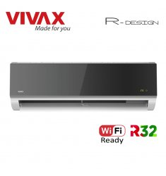 Aer Conditionat VIVAX R-Design ACP-12CH35AERI SILVER MIRROR Wi-Fi Ready R32 Inverter 12000 BTU/h