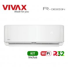 Aer Conditionat VIVAX R-Design ACP-12CH35AERI Wi-Fi Kit de instalare inclus R32 Inverter 12000 BTU/h